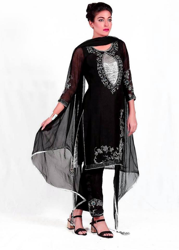 Latest Beautiful Pakistani kurta pajama Mehndi Dresses 2018