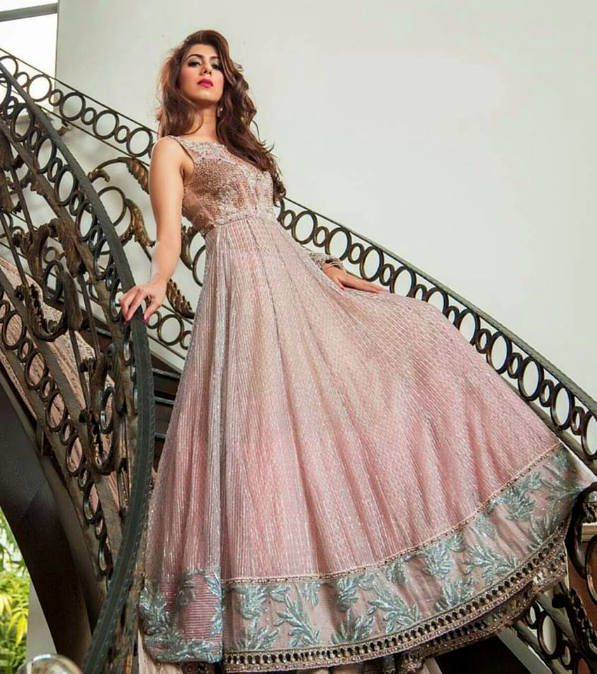 doll frock styles Latest Mehndi Dresses 2018