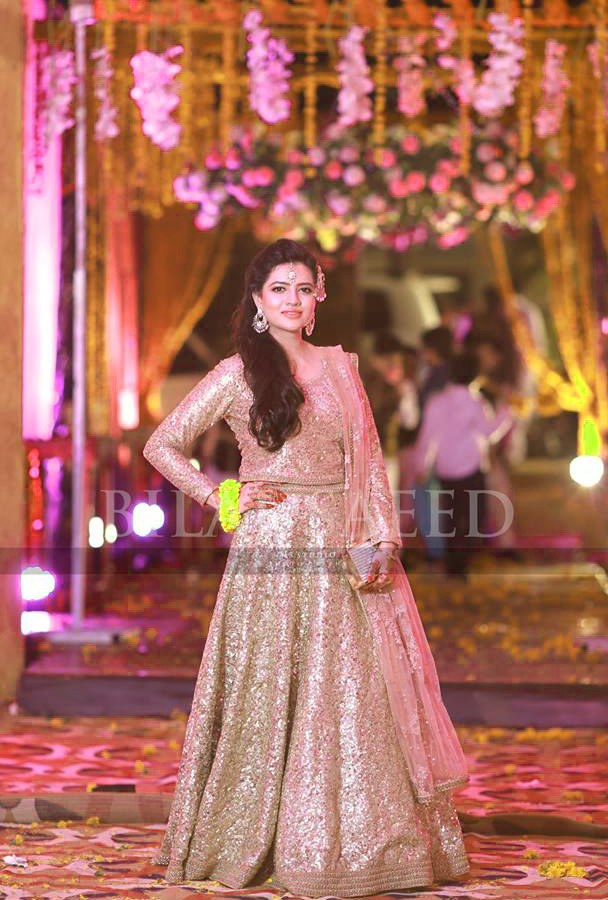 Latest Mehndi Dresses 2018