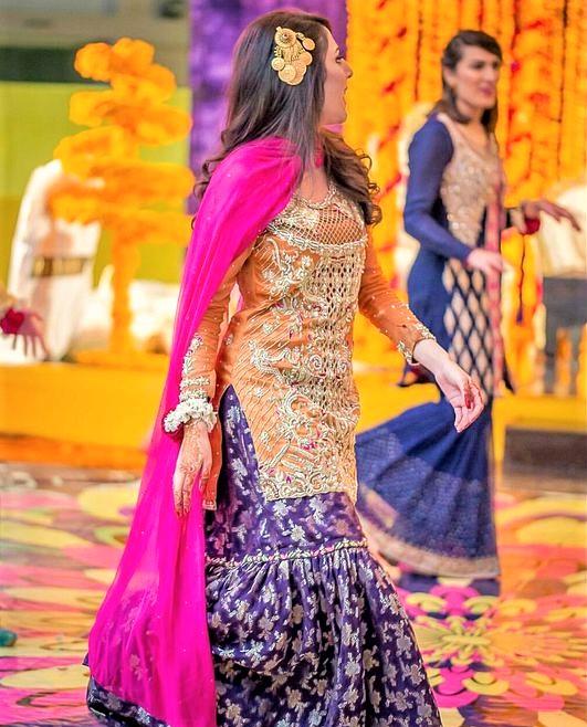New collection Anarkali Mehndi Dresses Designs