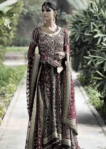 beautiful black Asian Wedding Mehndi Dresses