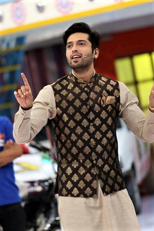 Fahad Mustafa Mehndi Dresses for Boys