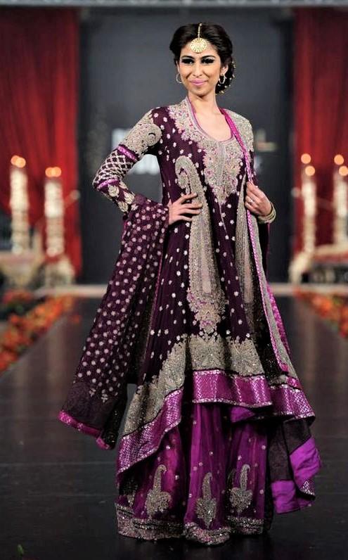Pakistani Ghagra Bridal Sharara Casual Mehndi Dresses Styles