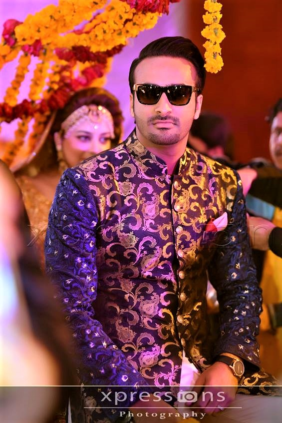 Jamawar printed Mehndi Dresses for Boys