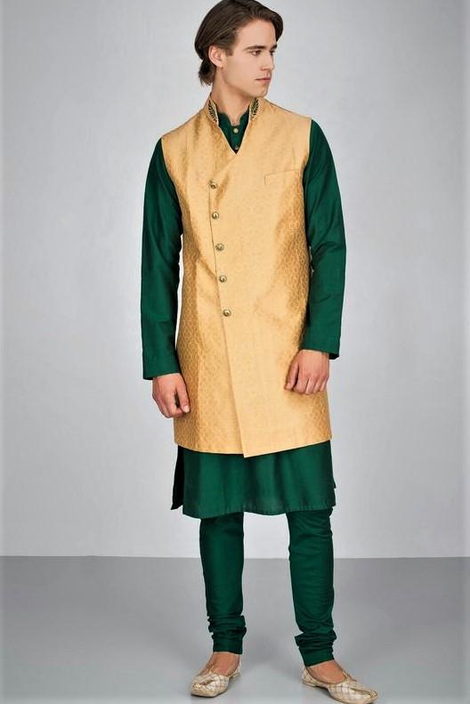 Angrakha shalwar kameez Style Kurta Design Mehndi Dresses