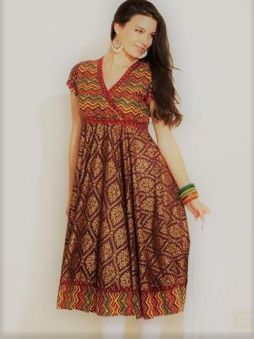 Angrakha Style shirts Mehndi Dresses
