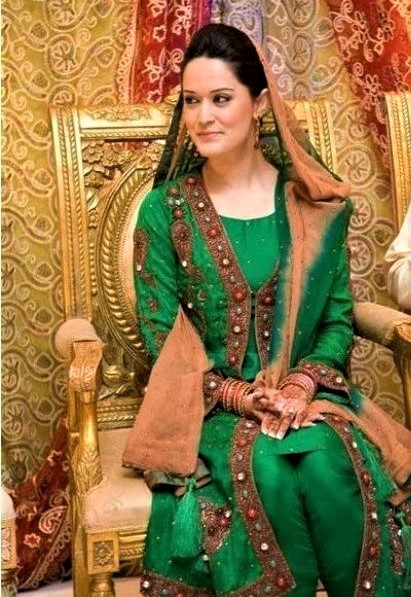 Asian Mehndi event Dresses
