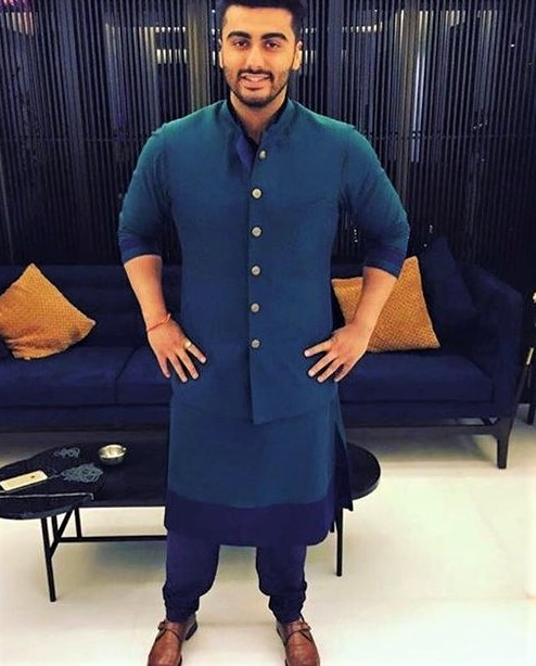 royal blue Mehndi Dresses for Boys