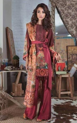 Plazo style Pakistani Sharara Mehndi Dresses