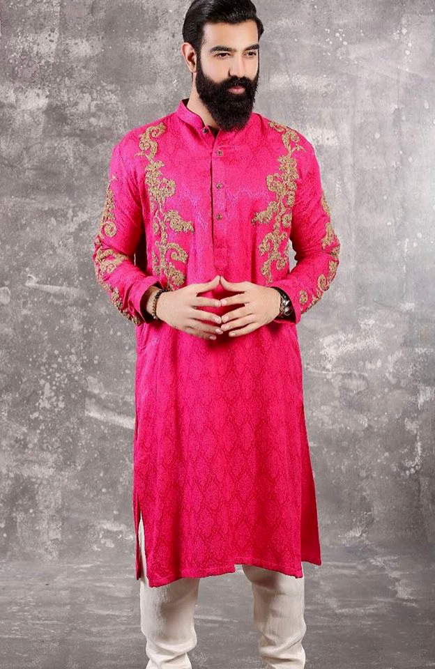 Mehndi Dresses: Mens New Kurta Waistcoats Designs - Mehndi Dresses