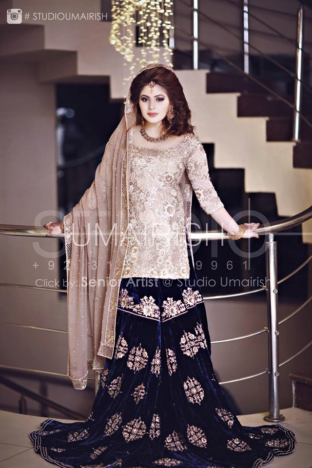Beautiful Pakistani Bridal Mehndi Dresses Designs