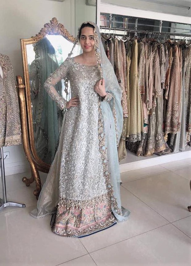 Asifa and Nabeel new Mehndi Dresses collection