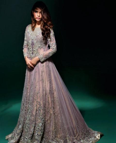 Asifa and Nabeel Mehndi Dresses for bridal