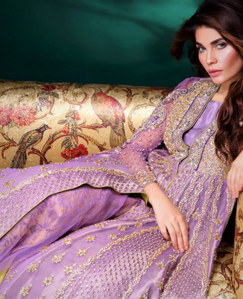 Asifa and Nabeel Mehndi Dresses collection latest