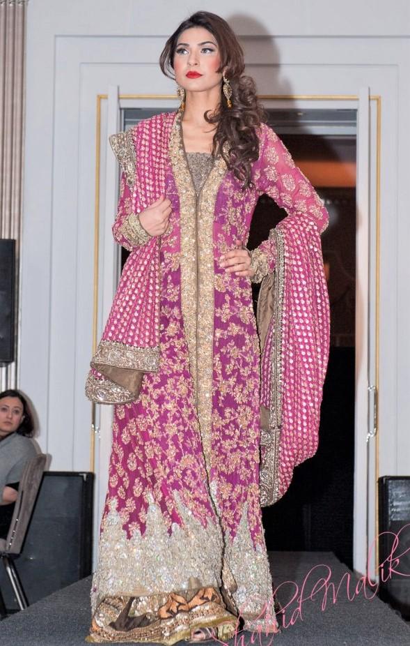 embroidery mehndi dresses of pakistani designers