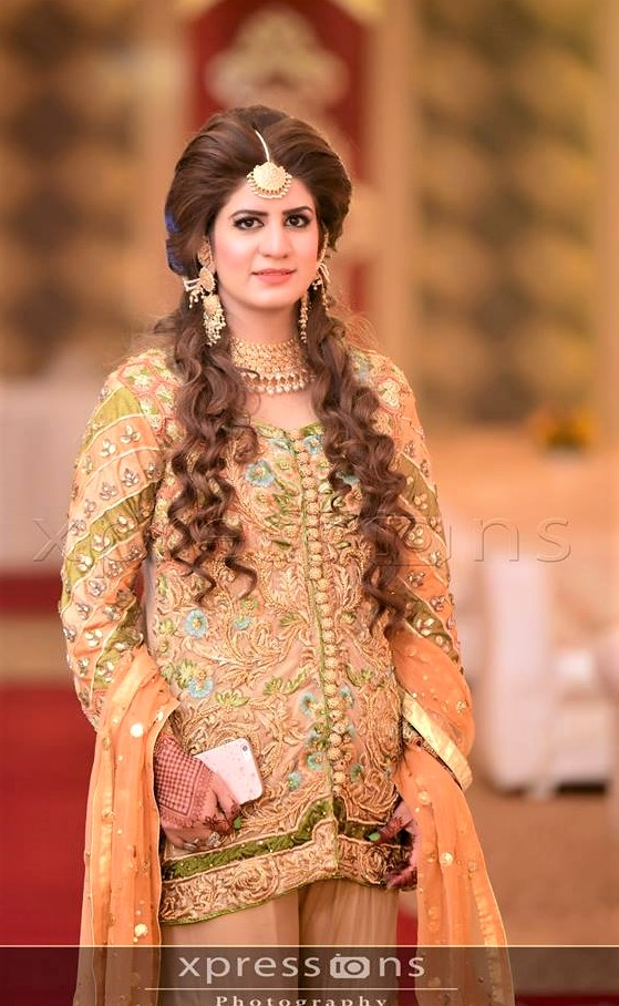 embroidery Casual Mehndi Dressses Pakistani Designs