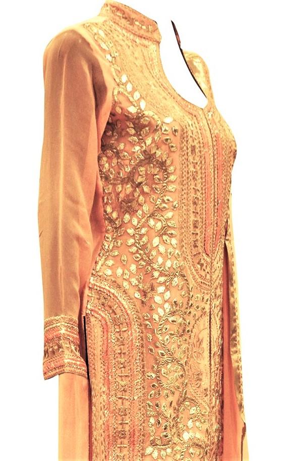 Girls kurta Gota Work Pakistani Mehndi Dresses
