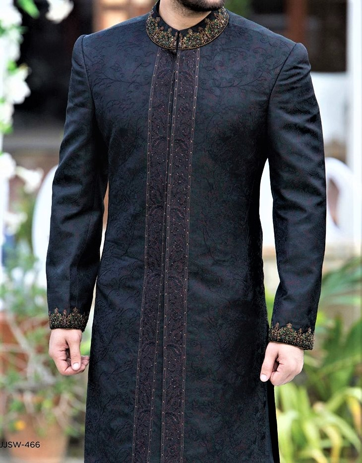 Groom wear Junaid Jamshed Mehndi Dresses