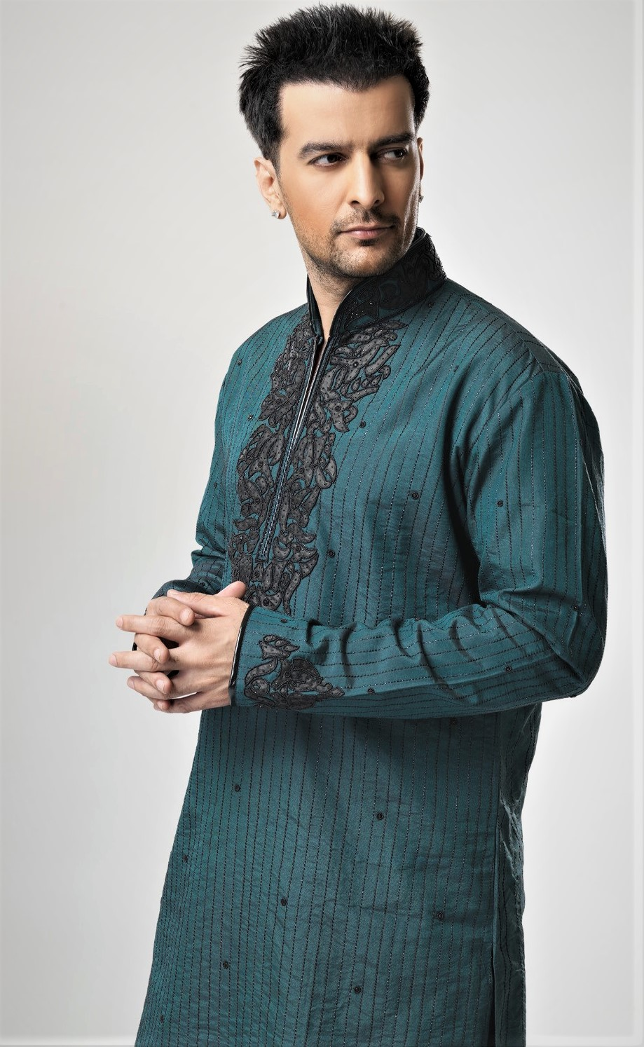 new wedding kurta Junaid Jamshed Mehndi Dresses
