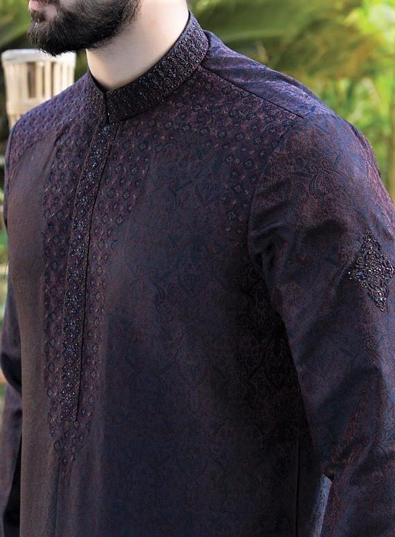 embroidery Kurta Junaid Jamshed Mehndi Dresses