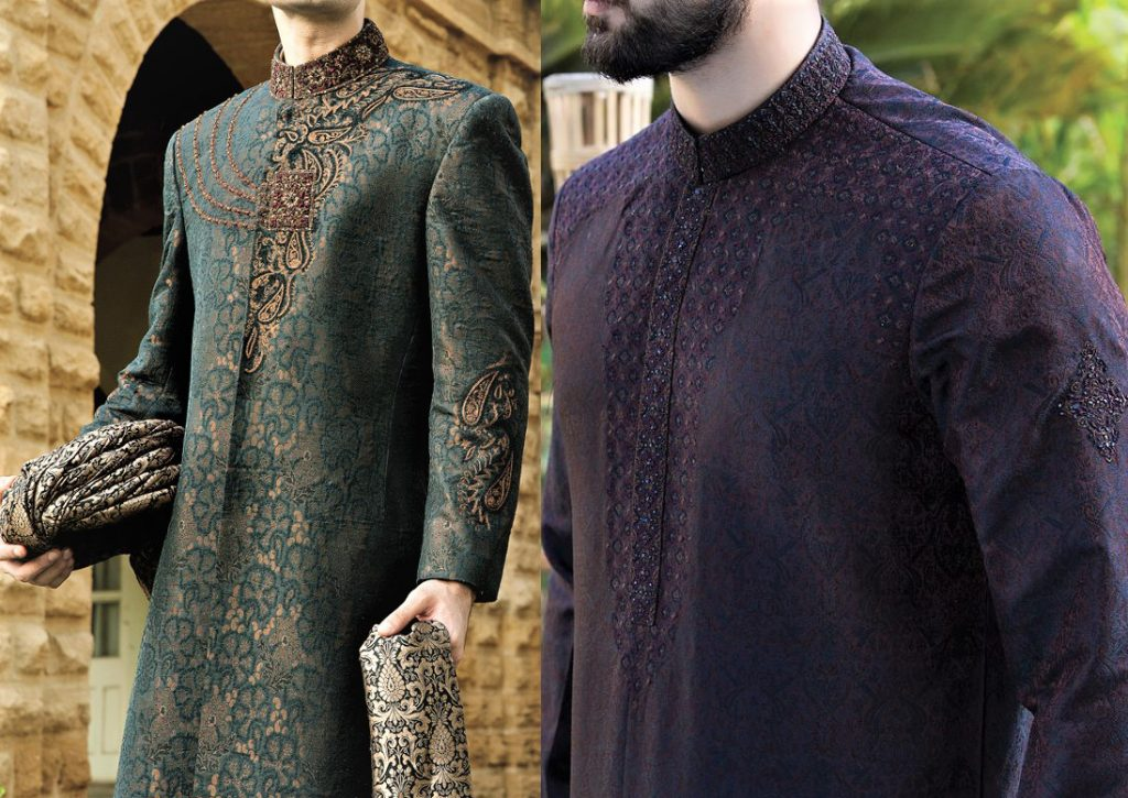 Mehndi Dresses: Junaid Jamshed New Collection