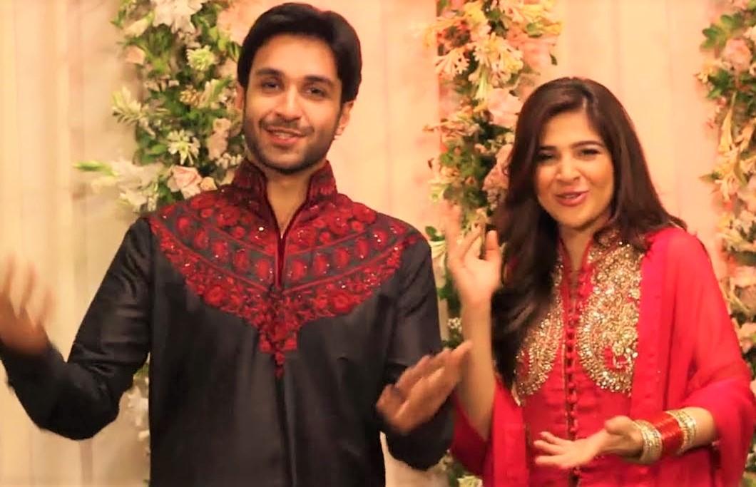 Ayesha Omar Pakistani Actresses Mehndi Dresses