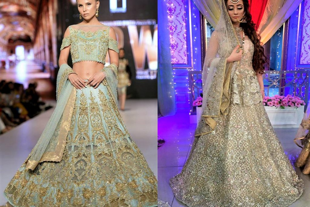 Best Erum Khan Mehndi Dresses Collection
