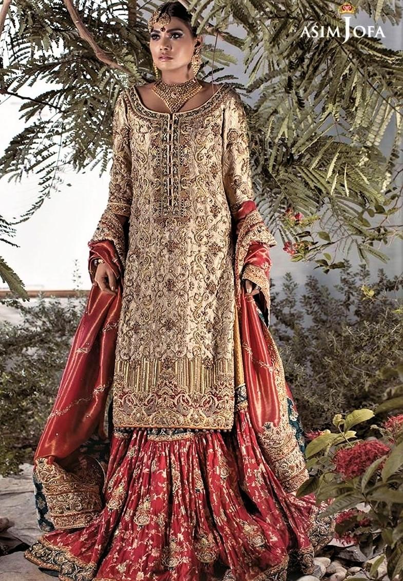 Mehndi Party Dresses 2018 : Brides wedding mehndi dresses pakistani designers