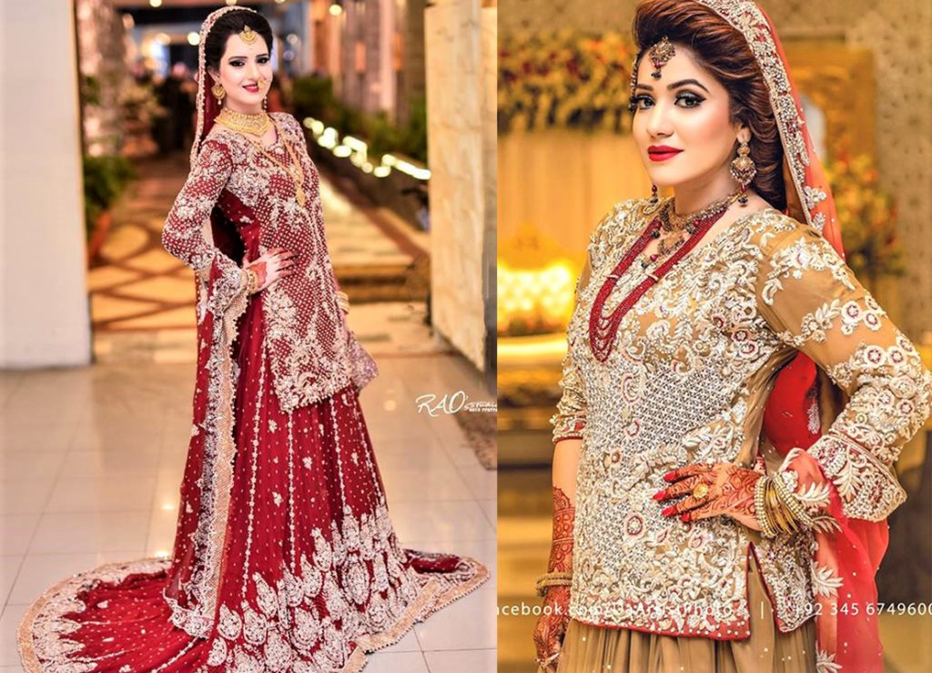Best Bridal Lehnga Designs Dresses for Mehndi and Wedding