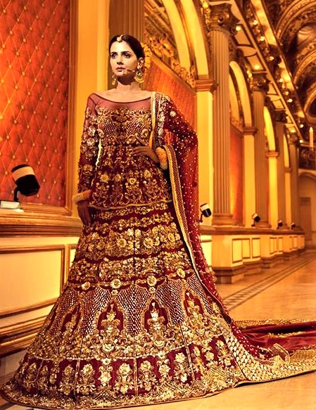 luxury bridal dress collection by erum khan