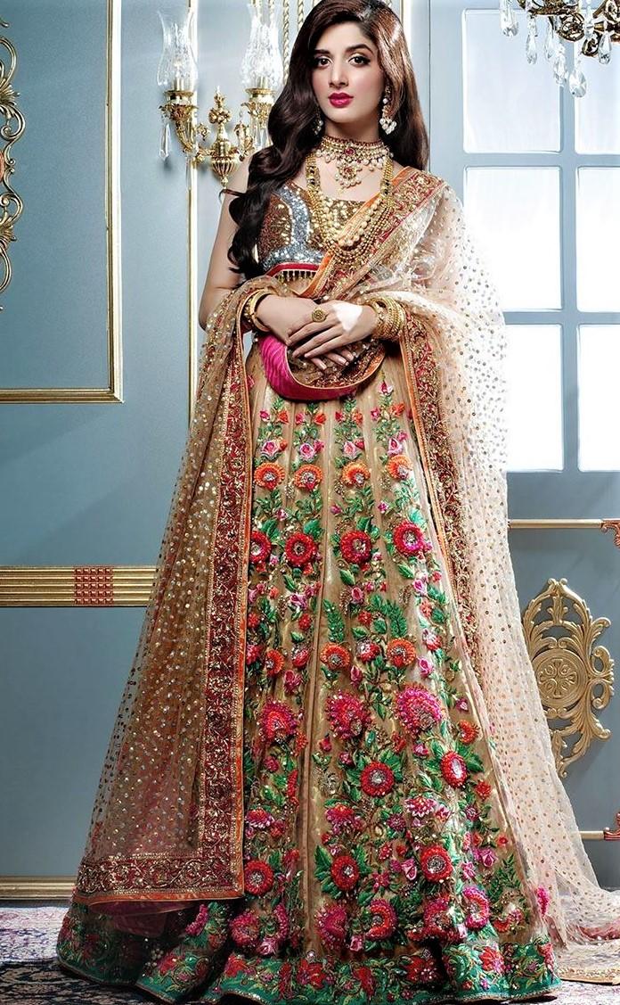niomi ansari bridal collection mehndi dresses