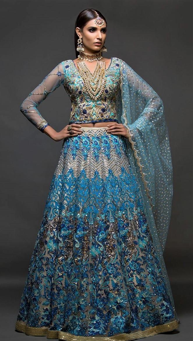 Pret wear mehndi dresses collection pakistani designer