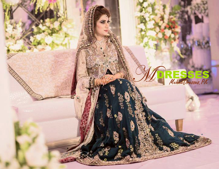 Latest Beautiful Pakistani Mehndi Dresses 2021-2022