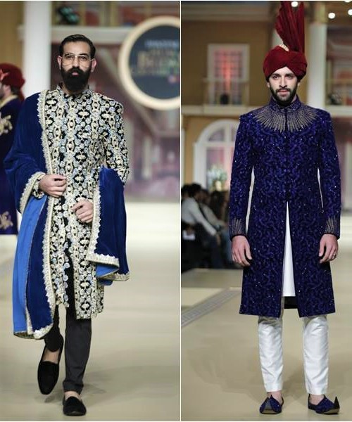 pantene bridal couture fashion week sherwani collection