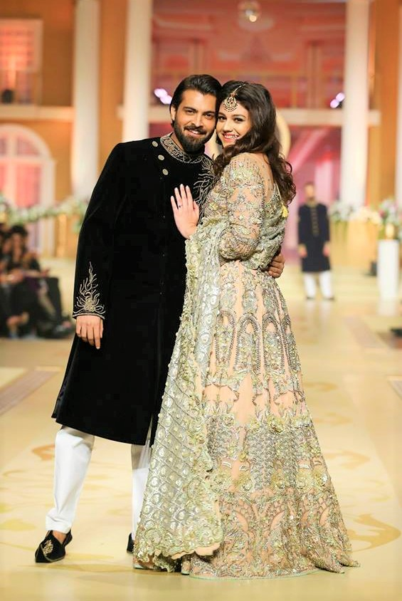 Nomi Ansaripantene bridal couture week dresses designs