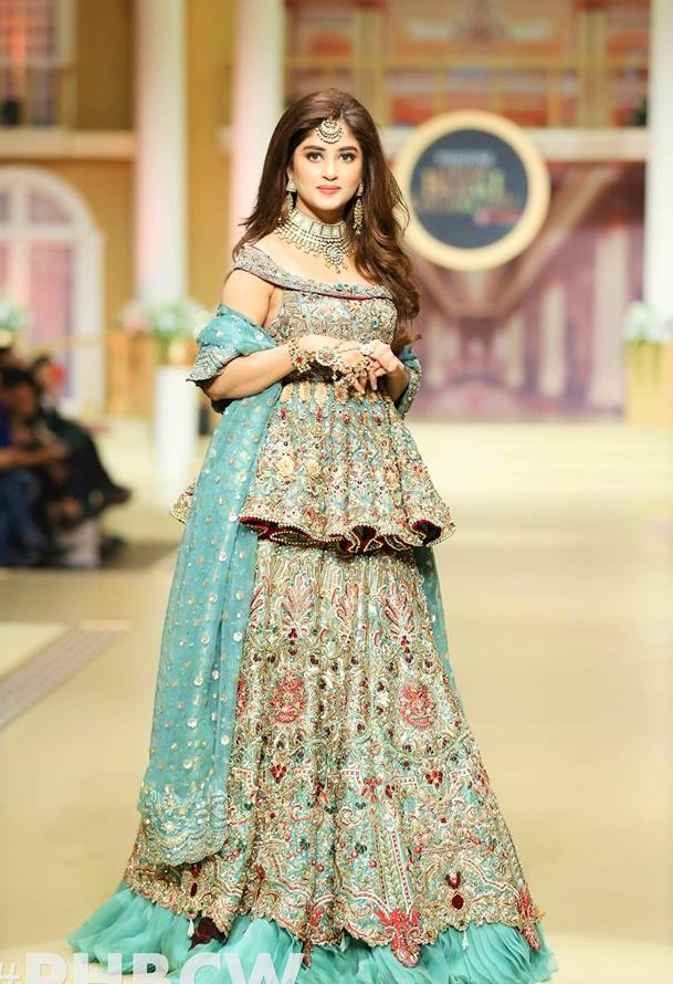 Pakistani designer pantene bridal couture week
