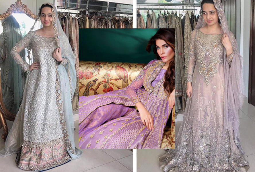 Asifa and Nabeel Mehndi Dresses Bridal Wedding Collection