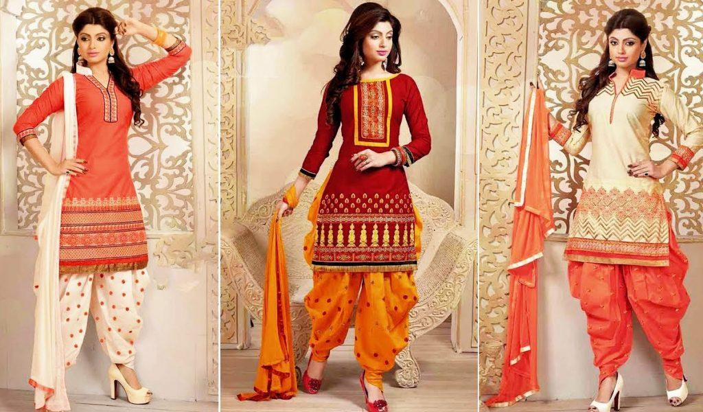 Mehndi Dresses With Patiala Salwar Kameez Pakistani Designs 2021