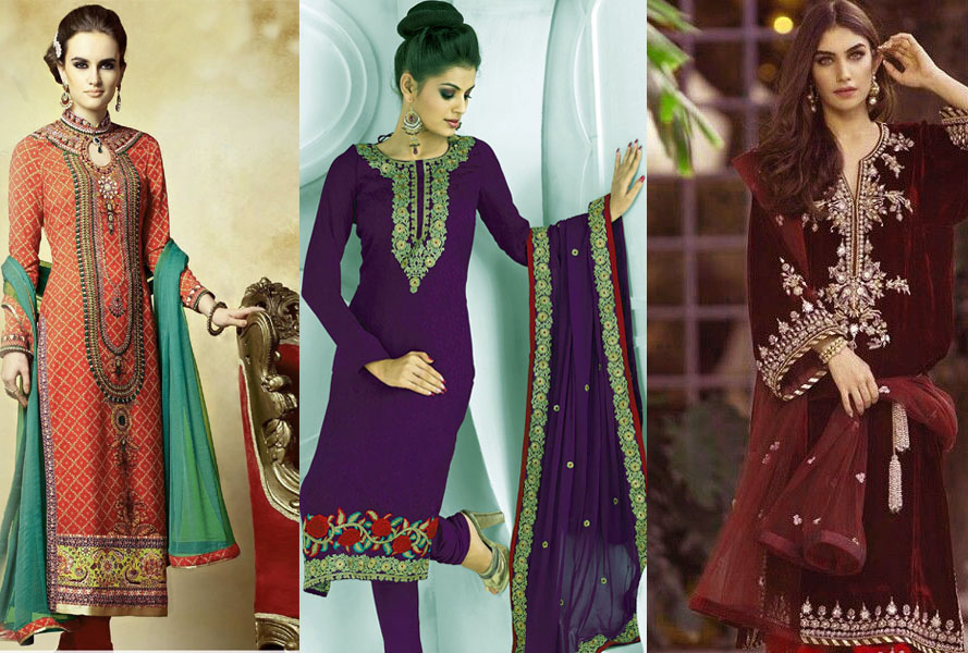 Mehndi Dresses Simple Salwar Kameez for Girls 2021-22