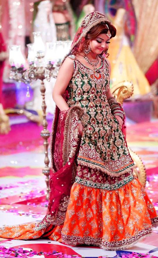 latest Kashee's Boutique Bridal Mehndi Dresses Designs