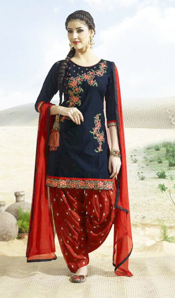 Best Mehndi Dresses With Patiala Salwar Kameez