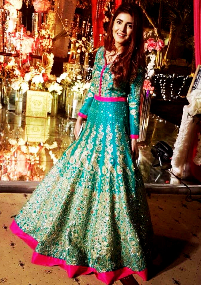 Mehndi Dresses by Ali Xeeshan collection 2018