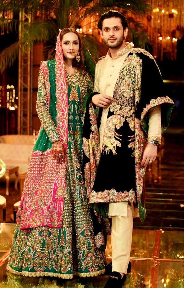 Ali Xeeshan wedding wear for brides