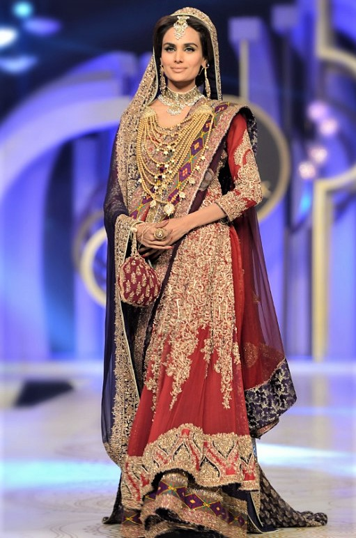 New mehndi dresses collection of HSY