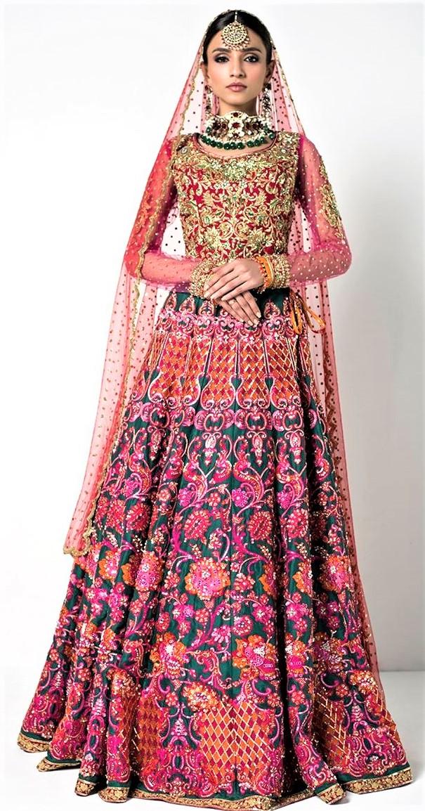 Nomi Ansari Bridal Mehndi Dresses Collection » Mehndi