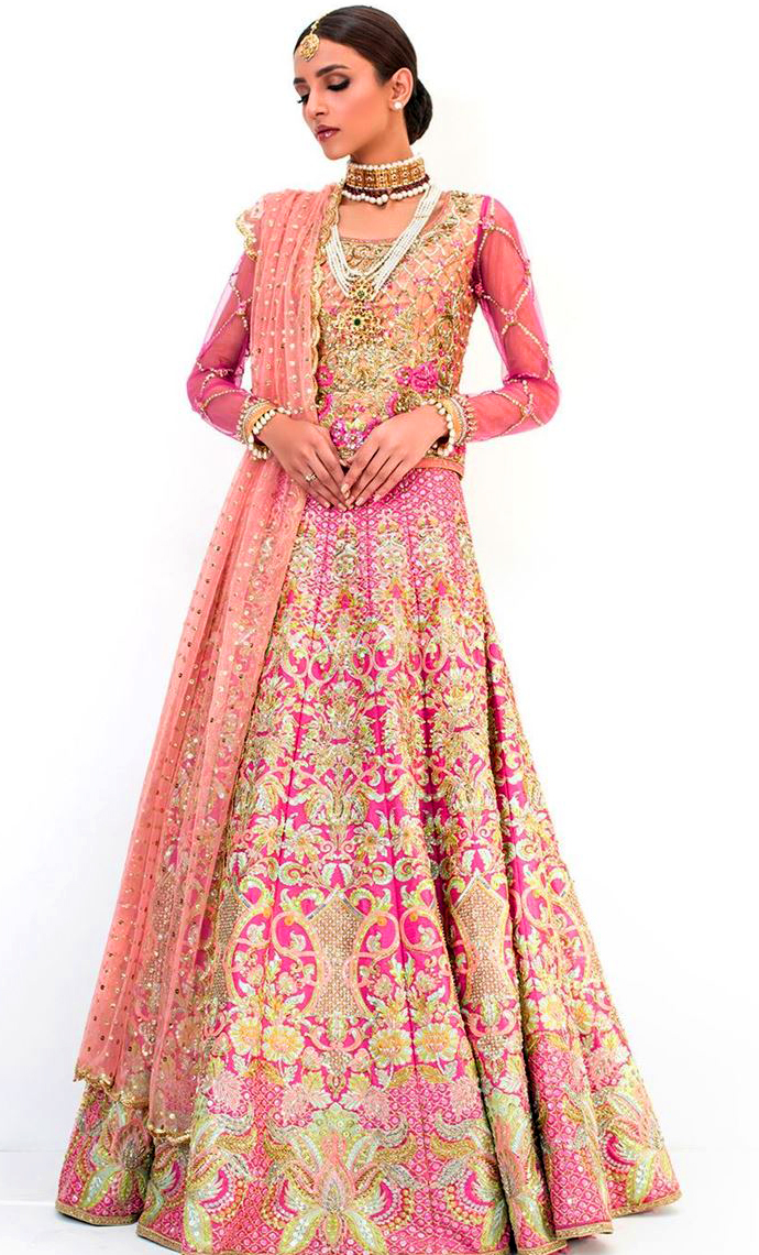 Nomi Ansari Bridal wedding Mehndi Dresses