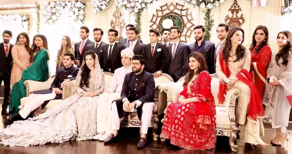 celebrities wedding pictures pakistani