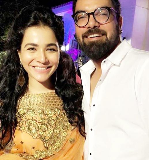 Feroz khan pakistani celebrities wedding dresses