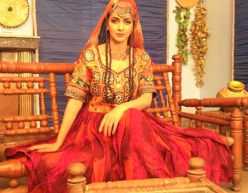 Pakistani Actresses Mehndi Dresses SAba Qamar marriage
