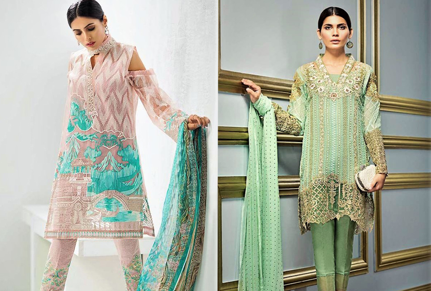 Mehndi Dresses By Gul Ahmed in Pakistan 2021